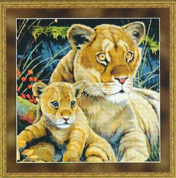 Kustom Krafts Lioness & Cub