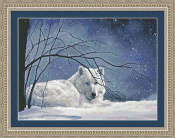 Kustom Krafts Snowy Wolf