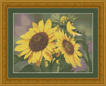 Kustom Krafts Sunflowers & Finch