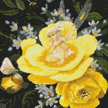 Kustom Krafts Yellow Peony Fairy