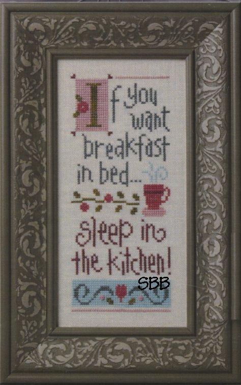 Lizzie*Kate Boxer Kit  B27 Breakfast In Bed