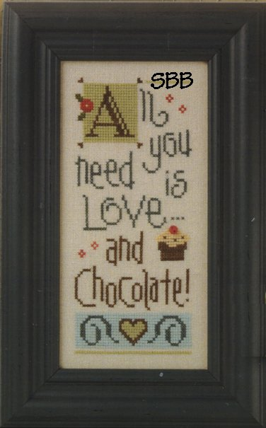 Lizzie Kate Boxer Kit  B32 All You Need Is Chocolate