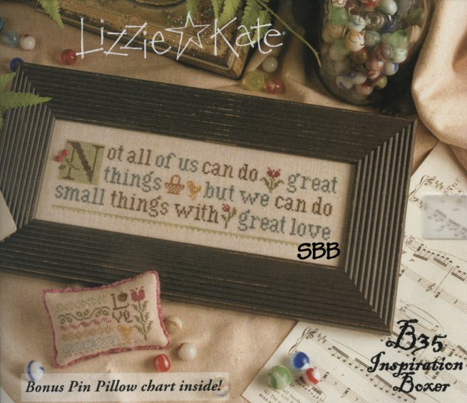 Lizzie*Kate Boxer Kit  B35 Inspiration ~ Not All Of Us