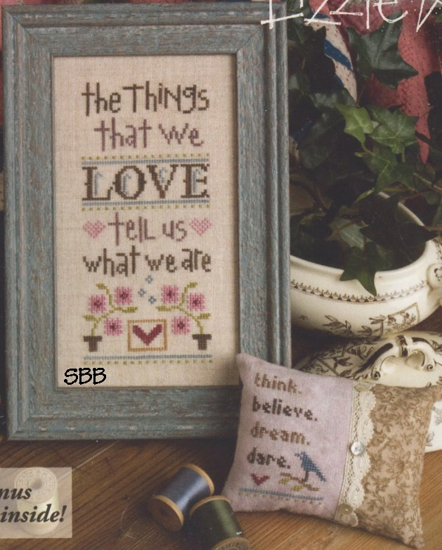 Lizzie Kate Boxer Kit  B59 The Things We Love