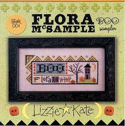 Lizzie Kate  FM001 Flora McSampler ~ Boo Sampler
