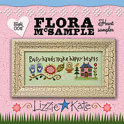 Lizzie*Kate Kits FM002 Flora McSampler ~ Heart