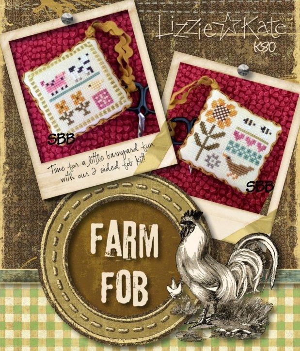 Lizzie*Kate Kits K80 Farm Fob