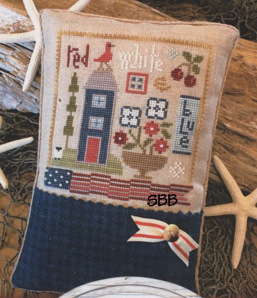 Lizzie Kate  K89 Red White & Blue Kit