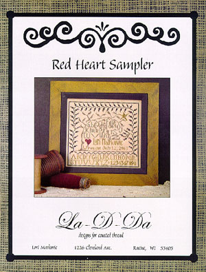 La~D~Da Red Heart Sampler