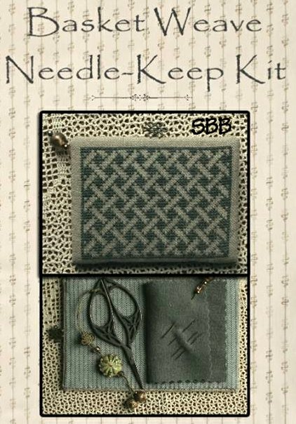 La~D~Da Limited Edition Basket Weave Needle Keep Kit
