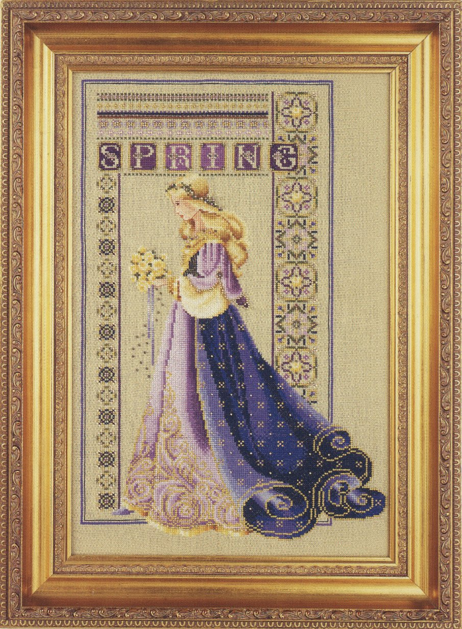 Lavender & Lace   #LL50 Celtic Spring