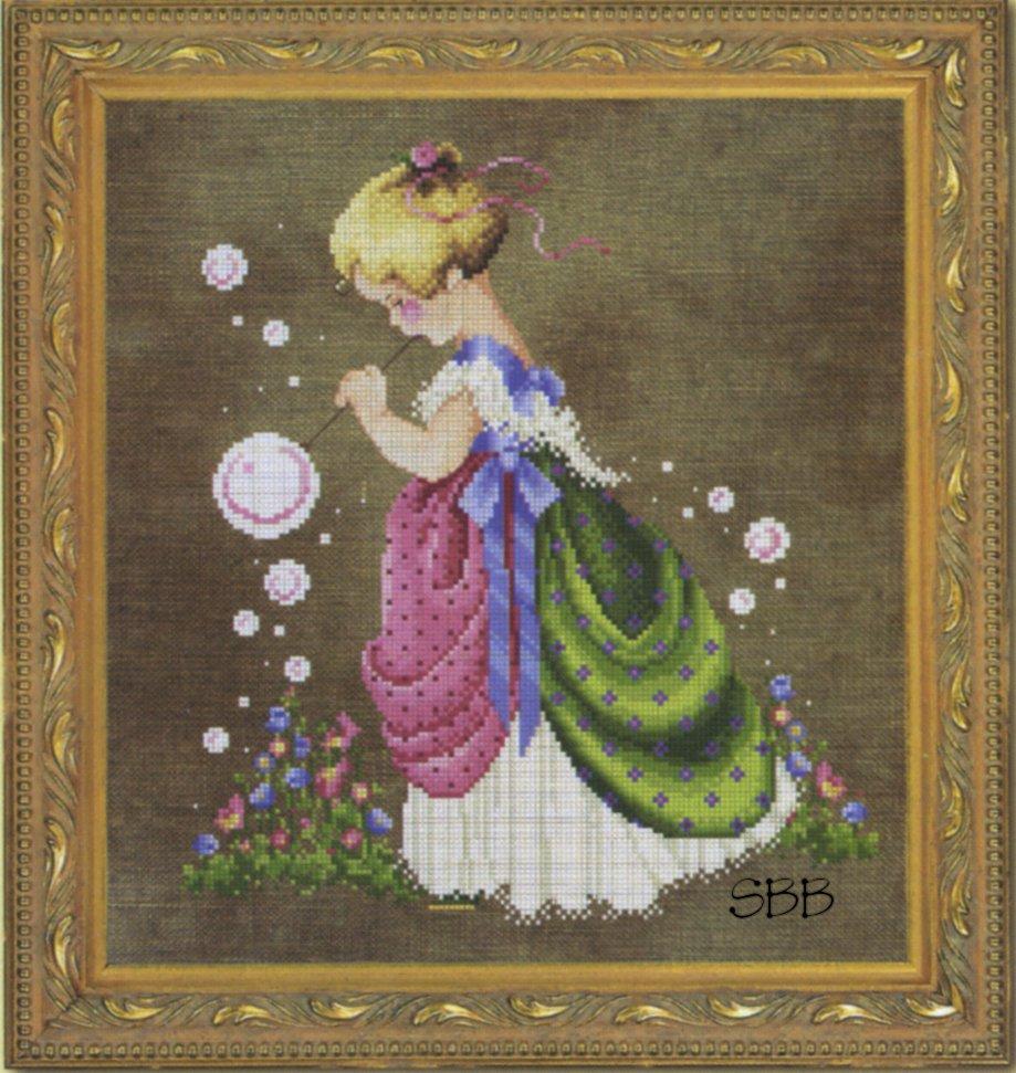 Lavender & Lace  #LL63 Isabella's Garden