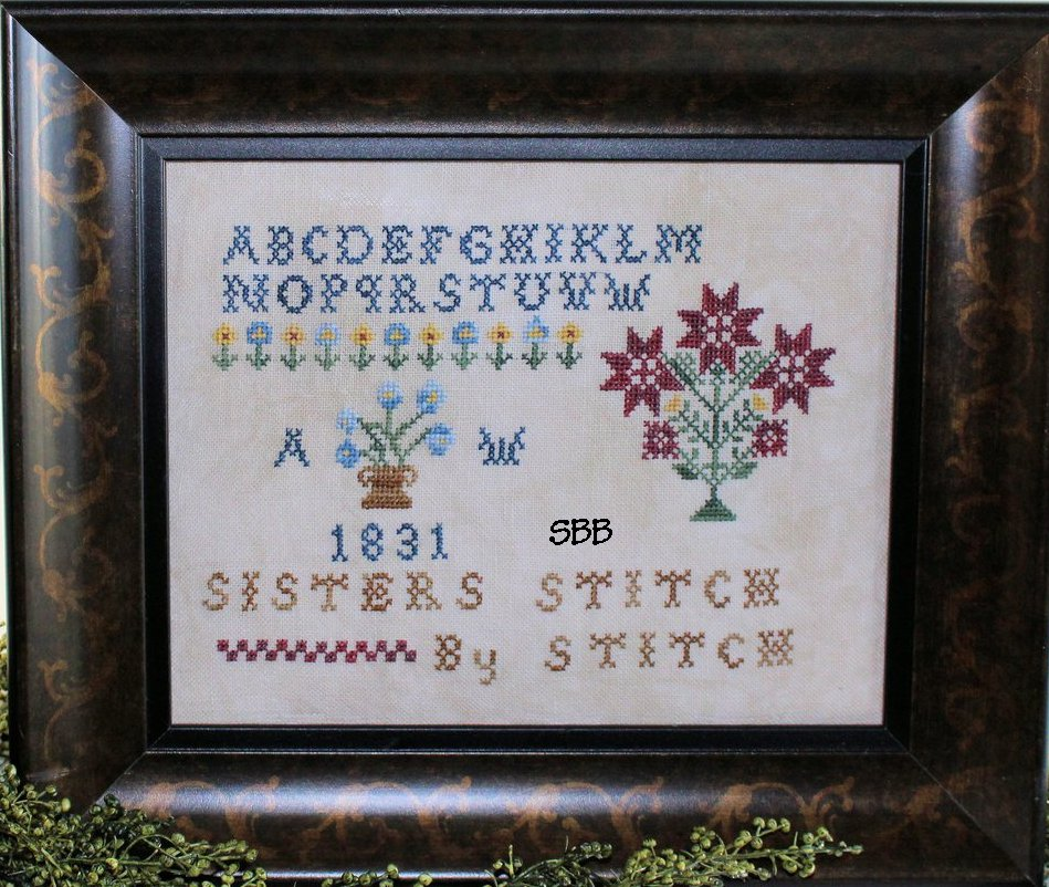 Legacy Patterns Sisters Stitch By Stich