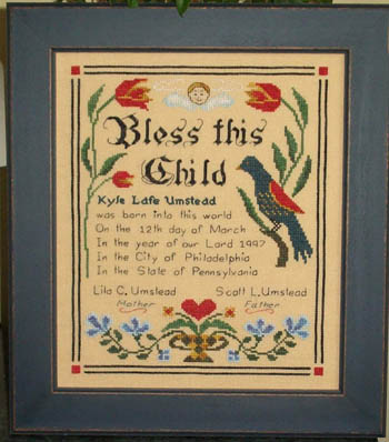 Lila's Studio Birth Sampler