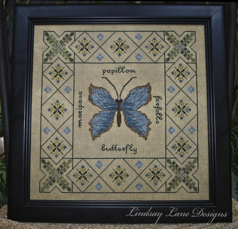 Lindsay Lane Designs Butterfly Garden Sampler