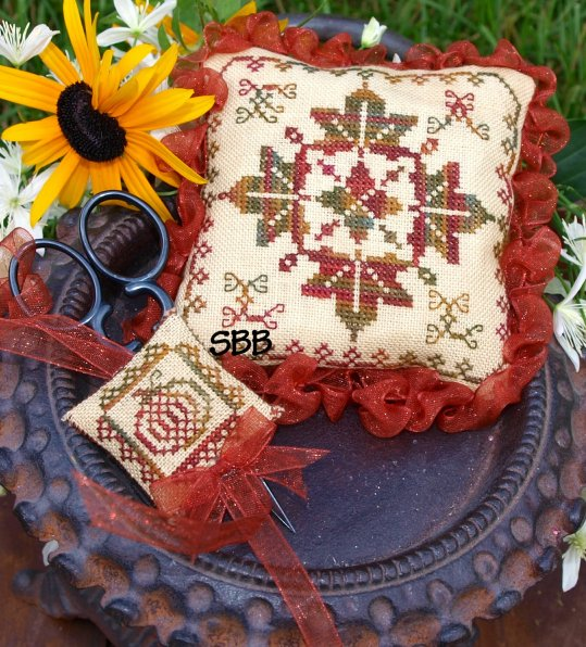 Lindsay Lane Designs Celebration Of Fall Pincushion