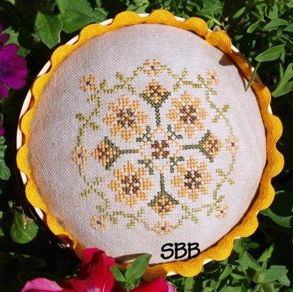Lindsay Lane Designs Kansas Sunflower Pincushion