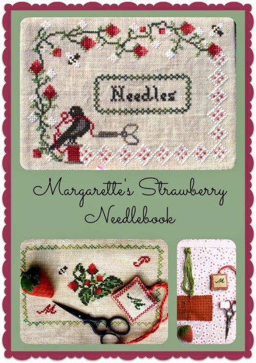 Lindsay Lane Designs Margarette's Strawberry Needlebook