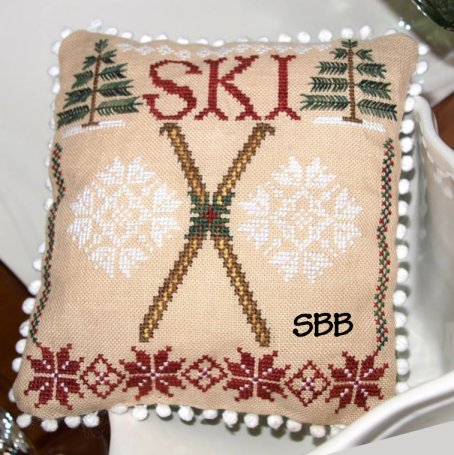 Lindsay Lane Designs Winter Fun - Ski