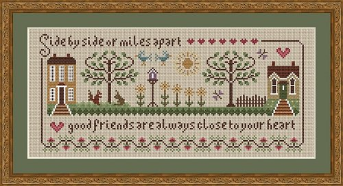Little Dove Designs Friendship Sampler