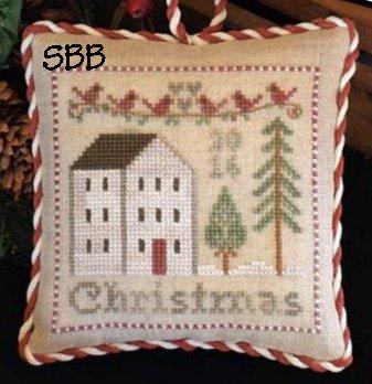 Little House Needleworks2016 Christmas Ornament