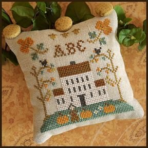 Little House Needleworks ABC Samplers #1 Of 9 ~ ABC