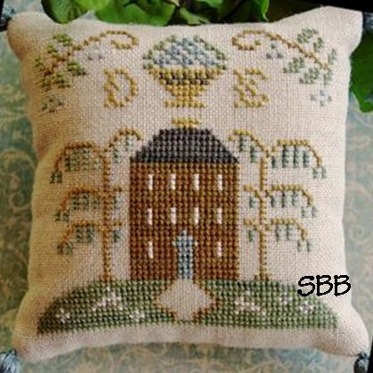 Little House Needleworks ABC Samplers #2 Of 9 ~ DE