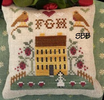 Little House Needleworks ABC Samplers #3 Of 9 ~ FGH