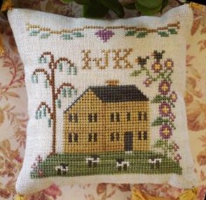 Little House Needleworks ABC Samplers #4 Of 9 ~ IJK
