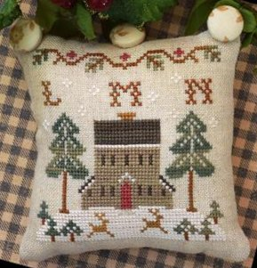 Little House Needleworks ABC Samplers #5 Of 9 ~ LMN