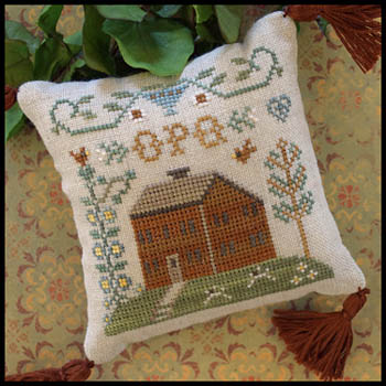 Little House Needleworks ABC Samplers #6 Of 9 ~ OPQ