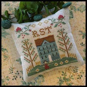 Little House Needleworks ABC Samplers #8 Of 9 ~ UVW