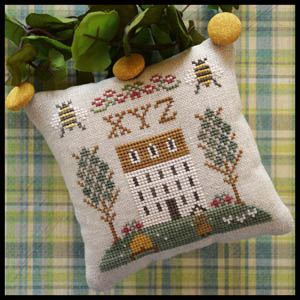 Little House Needleworks ABC Samplers #9 Of 9 ~ XYZ