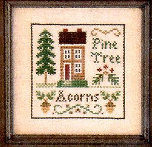 Little House NeedleworksAcorns & Pines