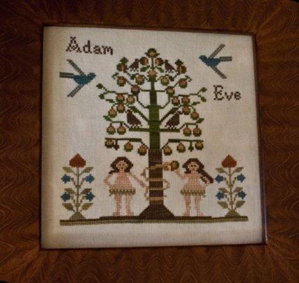 Little House NeedleworksAdam & Eve