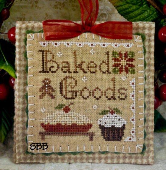Little House Needleworks2011 Ornament #7 ~ Baked Goods