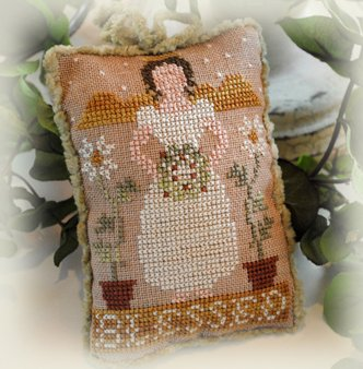 Little House Needleworks2012 Ornament #1 ~ Blessed