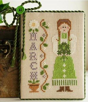 Little House Needleworks Calendar Girls #3 of 12 ~ March