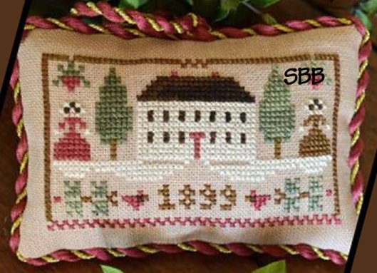 Little House Needleworks The Sampler Tree Ornament Series #11 Christmas In The Country