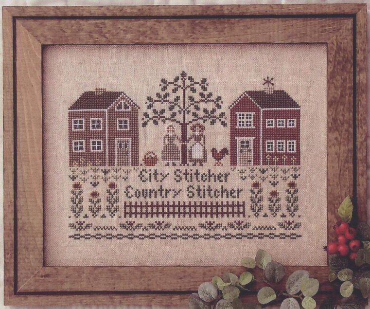 Little House Needleworks City Stitcher, Country Stitcher