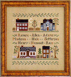 Little House NeedleworksColonial Homes