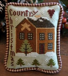 Little House Needleworks2012 Ornament #9 ~ Country Christmas