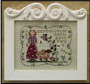 Little House Needleworks Curly Q Ewe