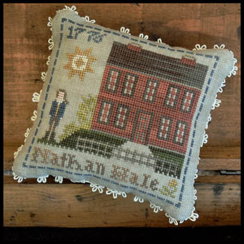 Little House Needleworks Early American ~ Nathan Hale