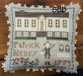 Little House Needleworks Early American ~ Patrick Henry