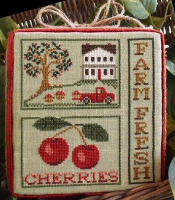 Little House Needleworks Farm Fresh Cherries