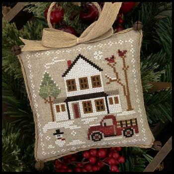 Little House Needleworks Farm House Christmas #3 ~ Grandpa's Pick Up
