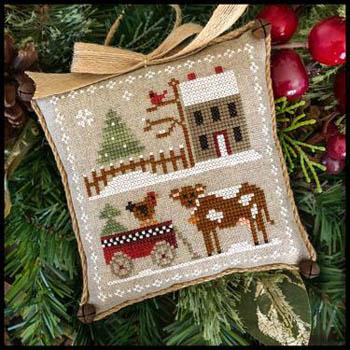 Little House Needleworks Farm House Christmas #4 ~ Dairy Darlin'