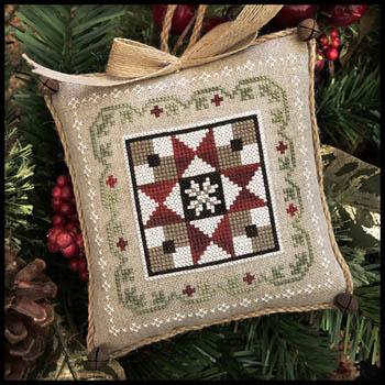 Little House Needleworks Farm House Christmas #5 ~ Grandma's Quilt