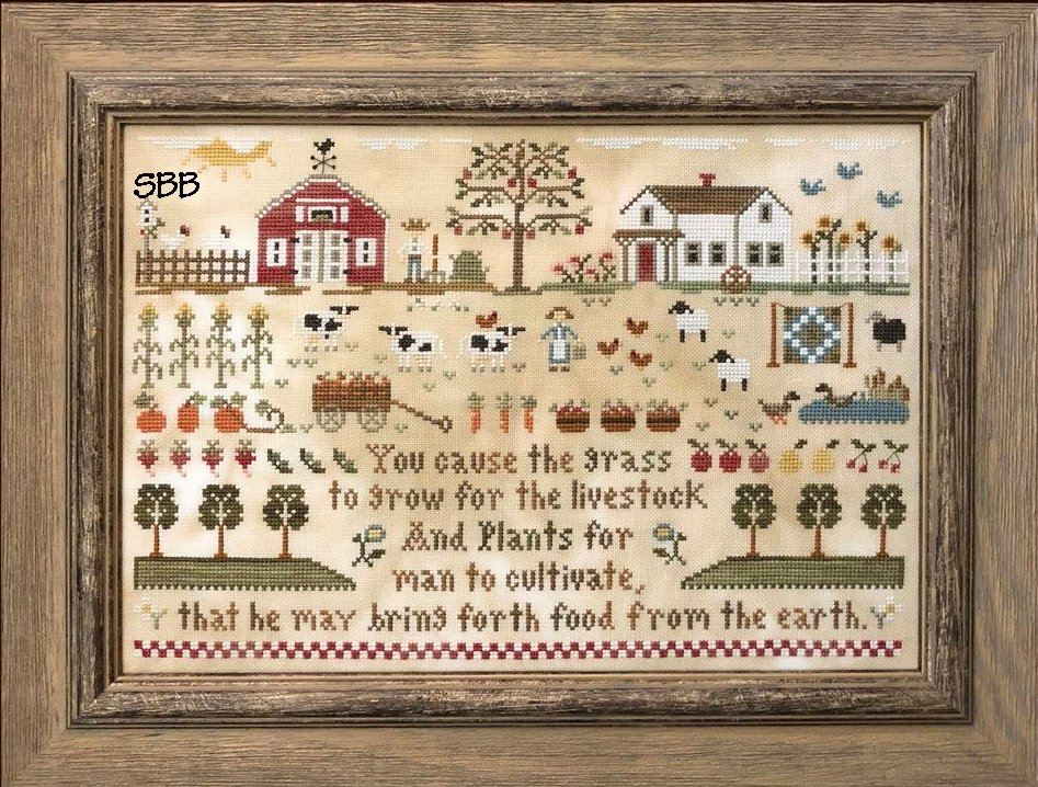 Little House Needleworks Farm Life